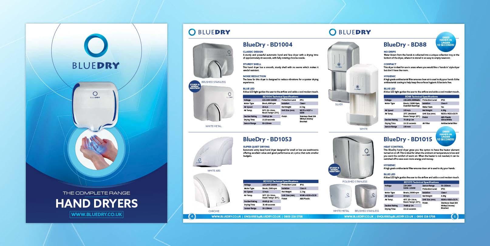 Blue Dry Brochure